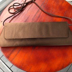 Bijoux Terner Chocolate Brown Clutch/Crossbody